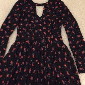 Free People Texan mini dress